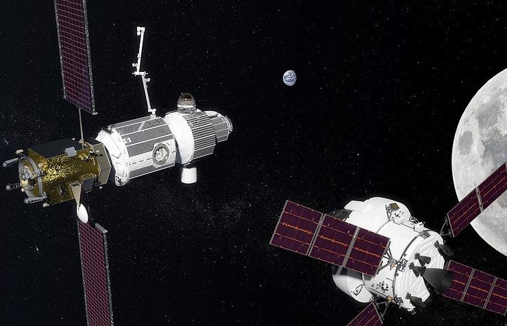 Deep Space Gateway program