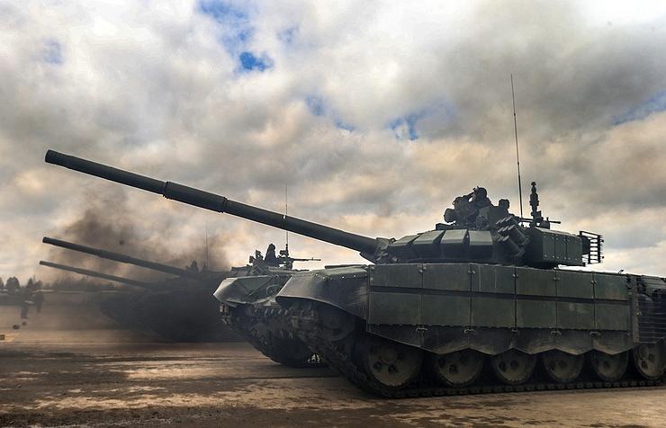 T-90S tank