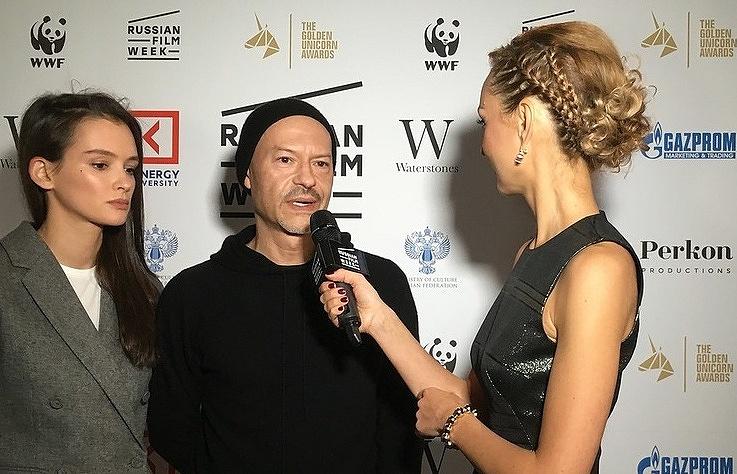 Russian film director Fyodor Bondarchuk