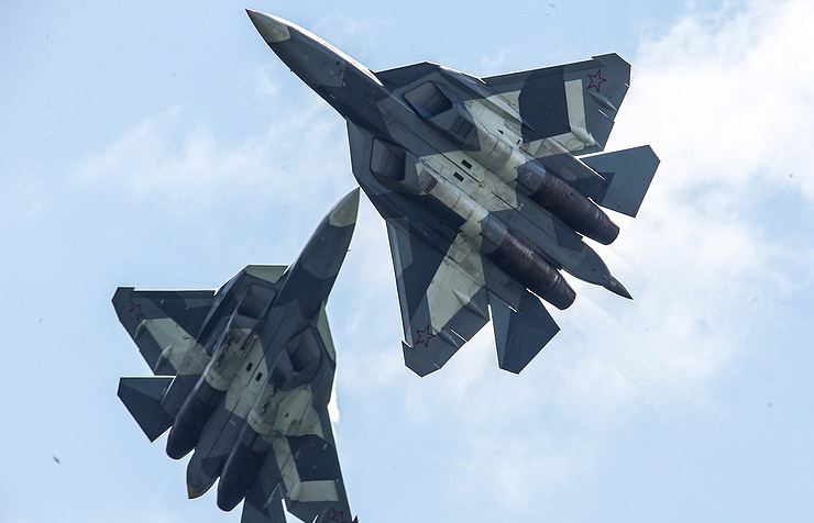 Russia's newest PAK FA fighter jets