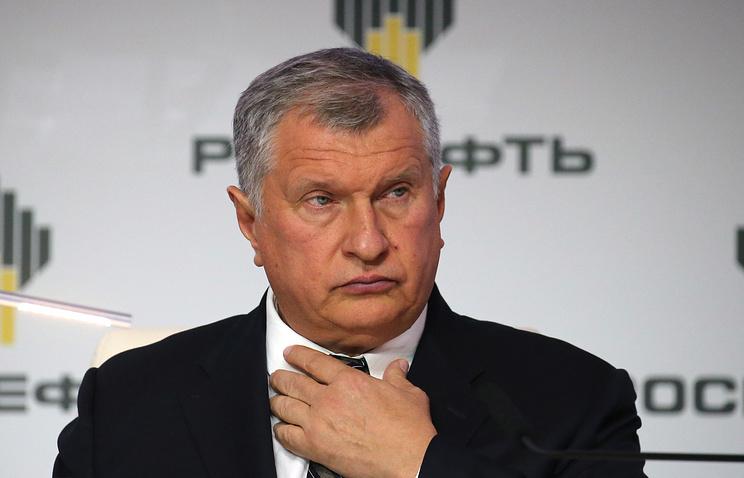 Rosneft CEO Igor Sechi