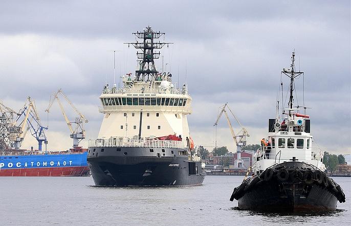 The Project 21180 icebreaker Ilya Muromets