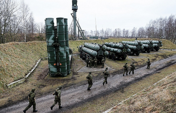 Middle East and Southeastern Asia countries interested in Russian S-400