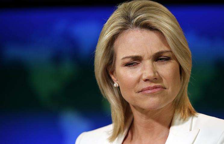 US State Department Spokesperson Heather Nauert