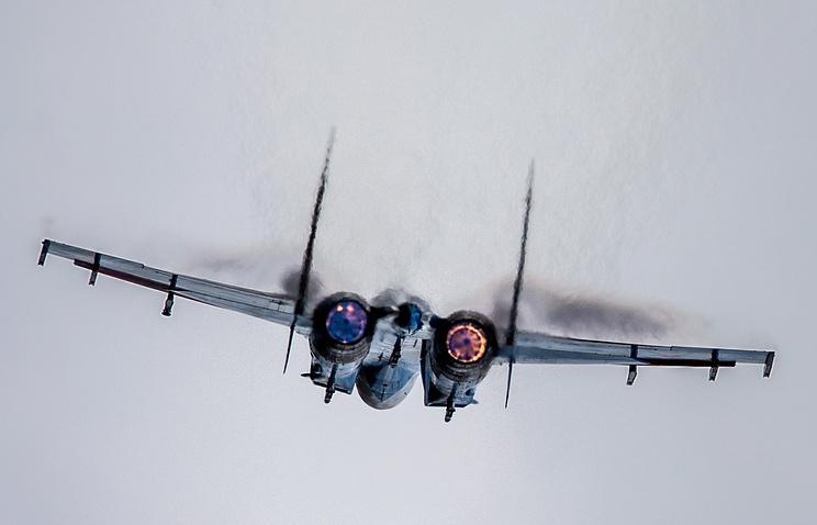Sukhoi-27 jet