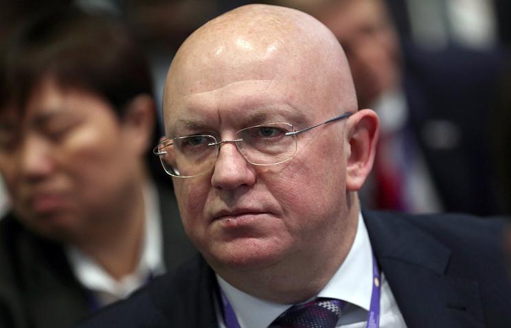 Russian Permanent Representative to the United Nations Vasily Nebenzya