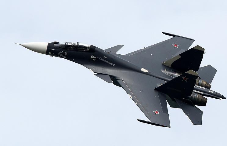 Su-30SM multirole fighter aircraft