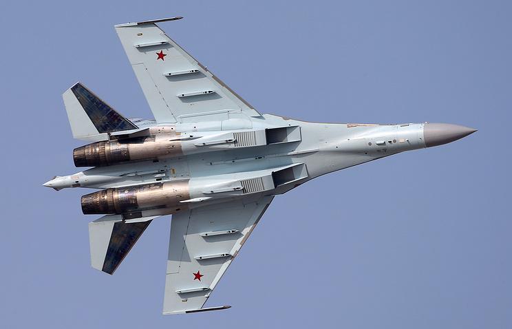 Su-35 fighter aircraft