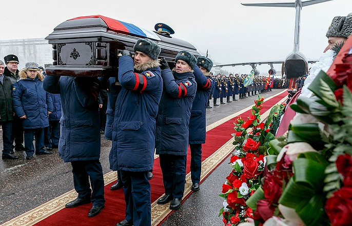 Body of pilot Fillipov killed in Syria brought back to Russian Federation