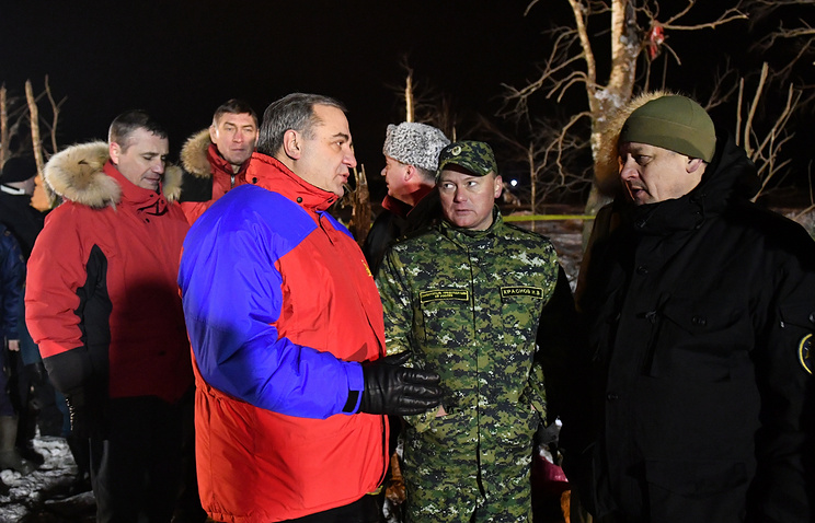 Russia's Emergency Situations Minister Vladimir Puchkov