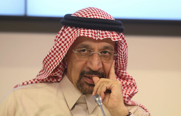 Saudi Minister of Energy, Industry and Mineral Resources Khalid al-Falih
