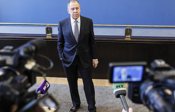 Lavrov: US training Europe to use tactical nukes against Russian Federation