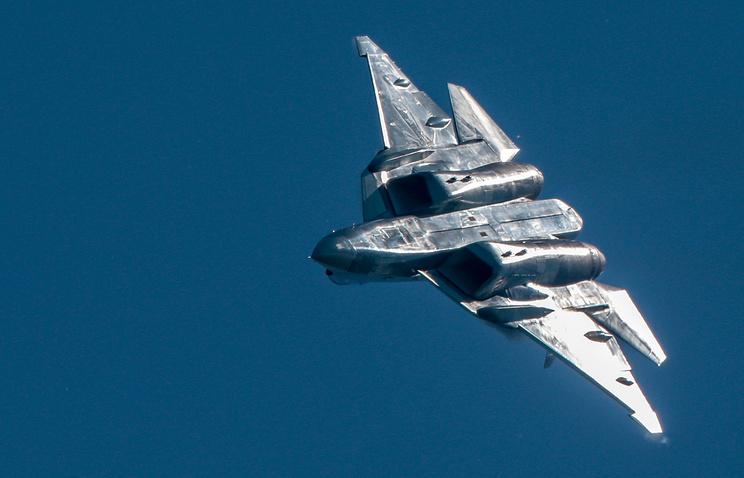 Su-57 stealth fighter jet