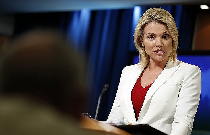 US Department of State Spokesperson Heather Nauert