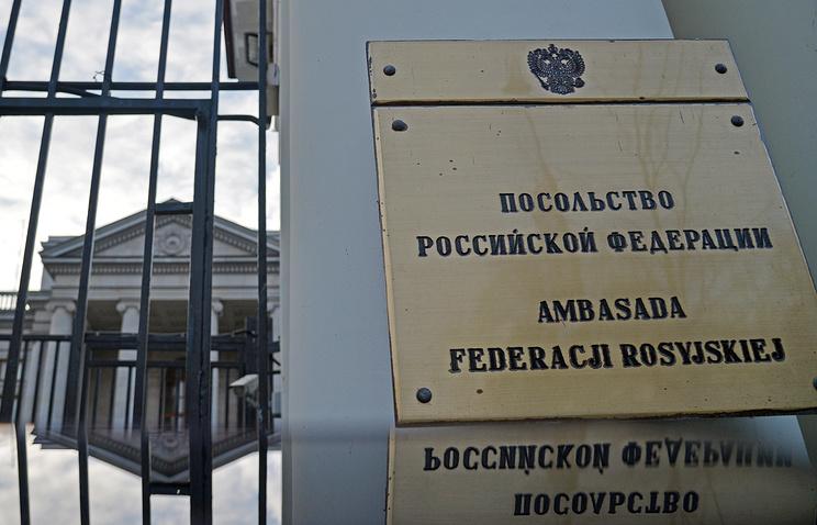 Russian embassy in Warsaw