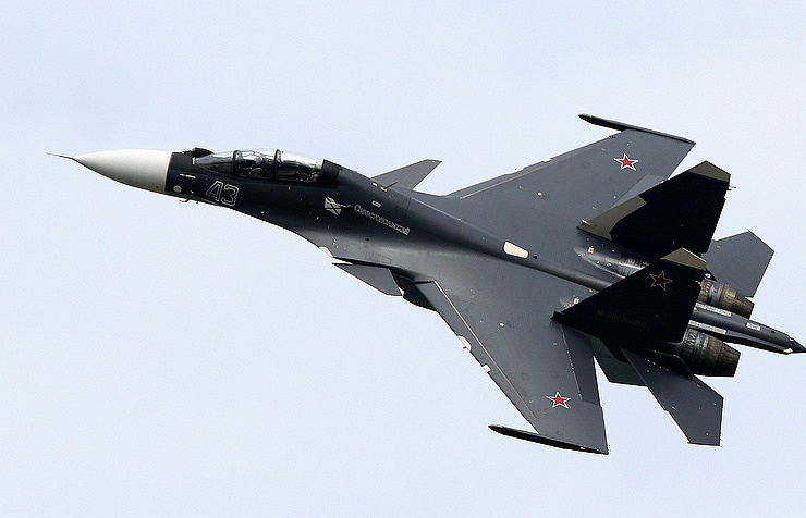 Su-30SM multirole fighter aircraft