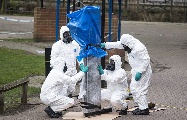 Russian proposal for joint Salisbury toxin inquiry 'perverse' - Britain