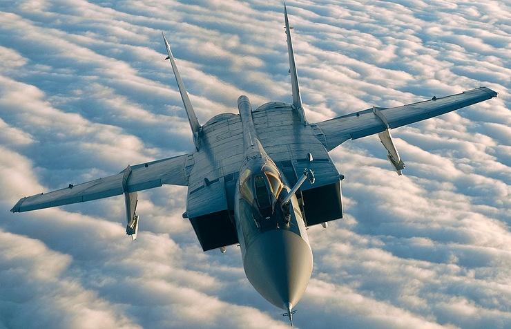 MiG-31 fighter jet
