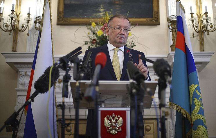 Russian Ambassador to the UK Alexander Yakovenko