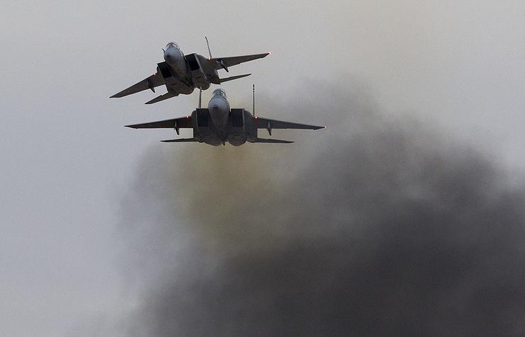 F-15 aircraft of Israel's Air Force
