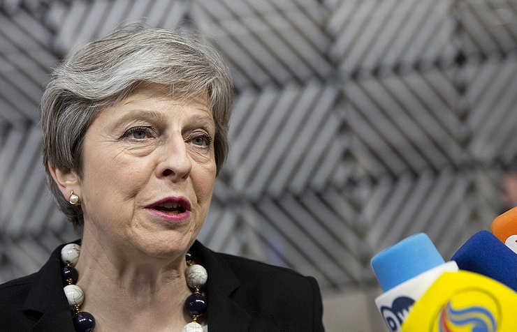 Western missile attack on Syria was 'right and legal', May says