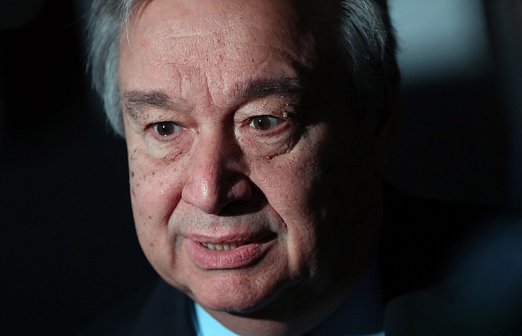 Guterres: Situation in the Middle East threatens worldwide peace and security