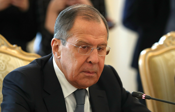 Sergey Lavrov could speak on Syria at press conference