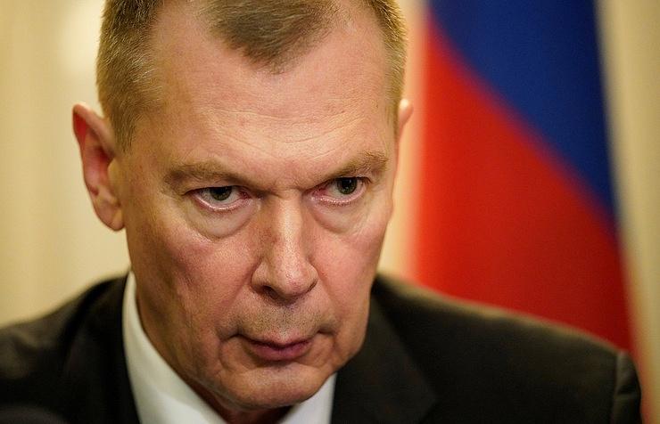 Russia's OPCW envoy, Alexander Shulgin
