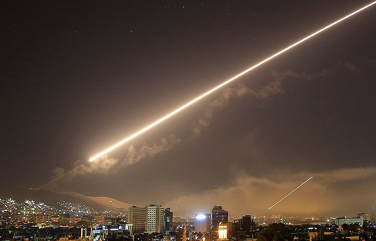 Missile strikes on Syria free of casualties, Pentagon says