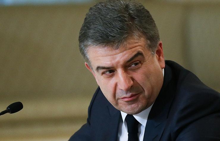 Armenia's First Deputy Prime Minister Karen Karapetyan