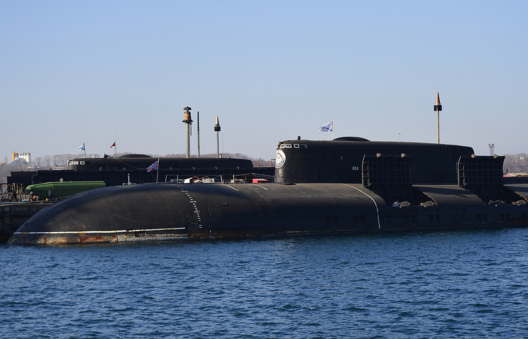 Project 949A Antey nuclear-powered cruise missile submarine