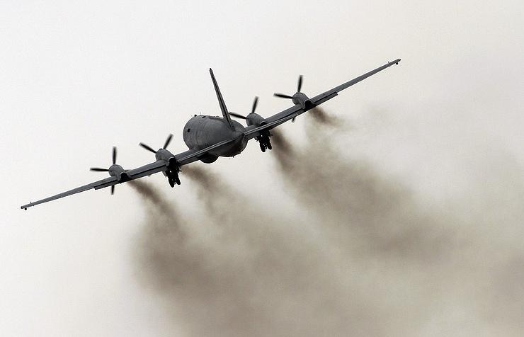 The Ilyushin Il-38 plane