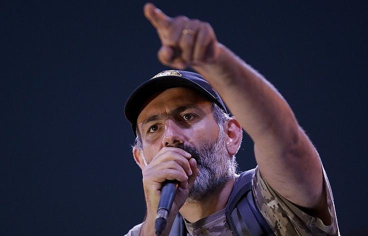 Nikol Pashinyan, Armenian opposition leader and MP