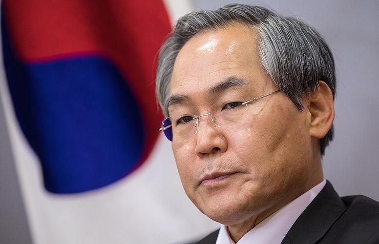 South Korea's Ambassador to Russia Woo Yoon-keun