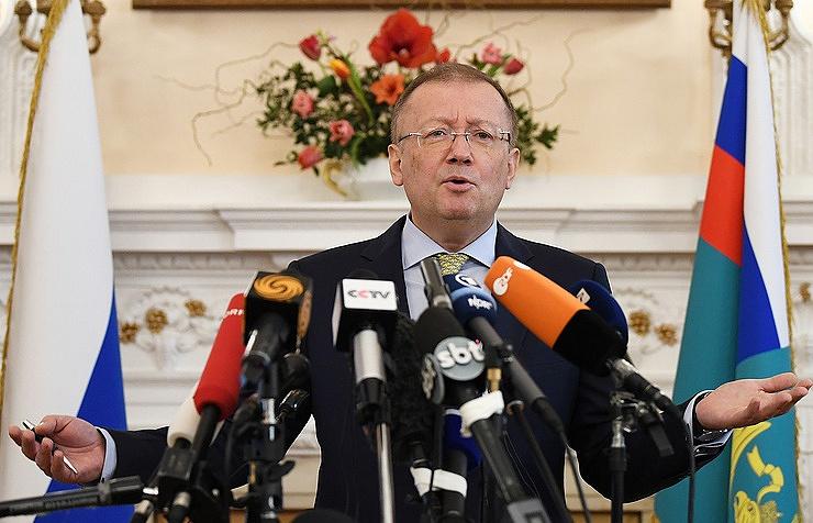The Russian Ambassador in London, Alexander Yakovenko