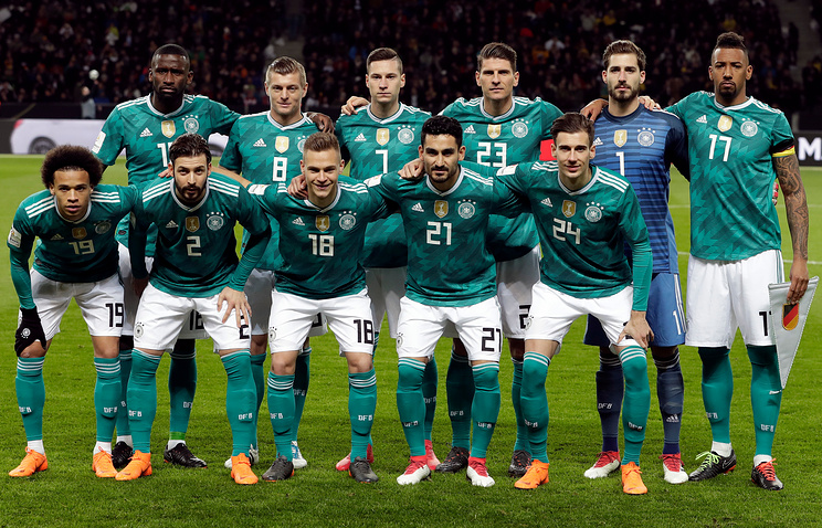 German football players