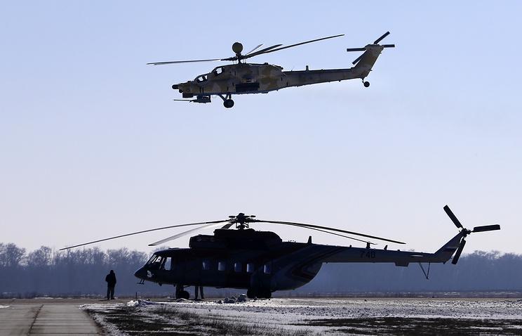 Mi-28NE 'Night Hunter' helicopter