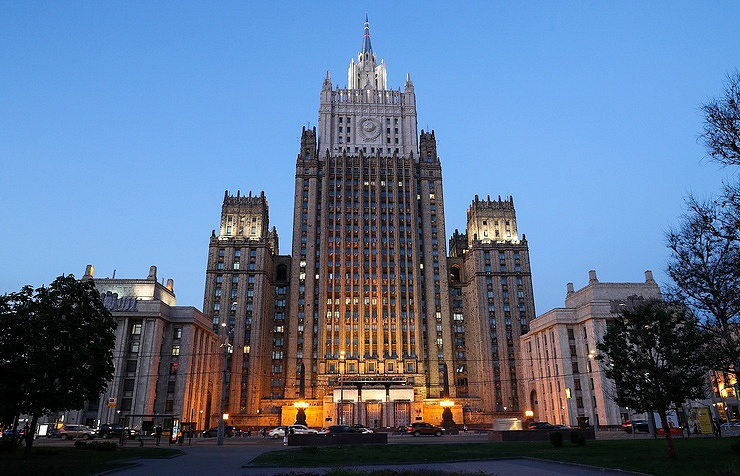 Russian Foreign Ministry building