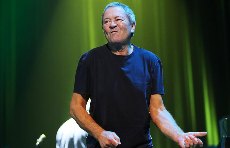 Ian Gillan, lead singer and frontman of Deep Purple
