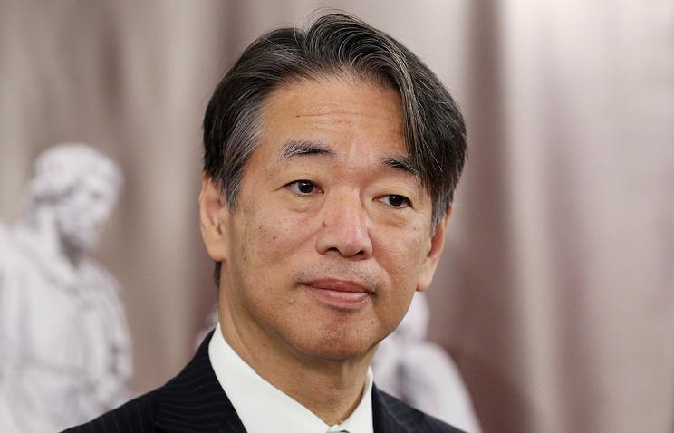 Japanese Ambassador to Russia Toyohisa Kozuki