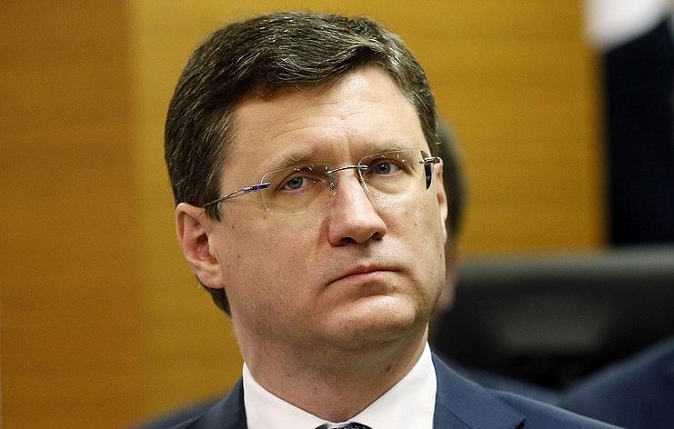 Minister of Energy of Russia Alexander Novak