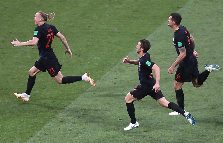 Croatian football team members