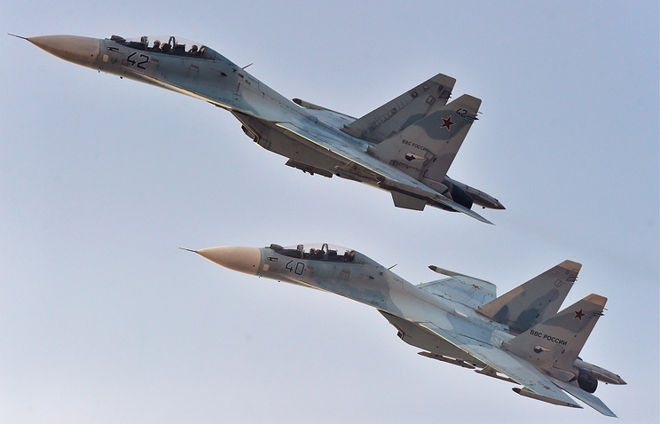 Su-30M2 fighter jets