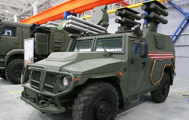 Kornet anti-tank guided missile system