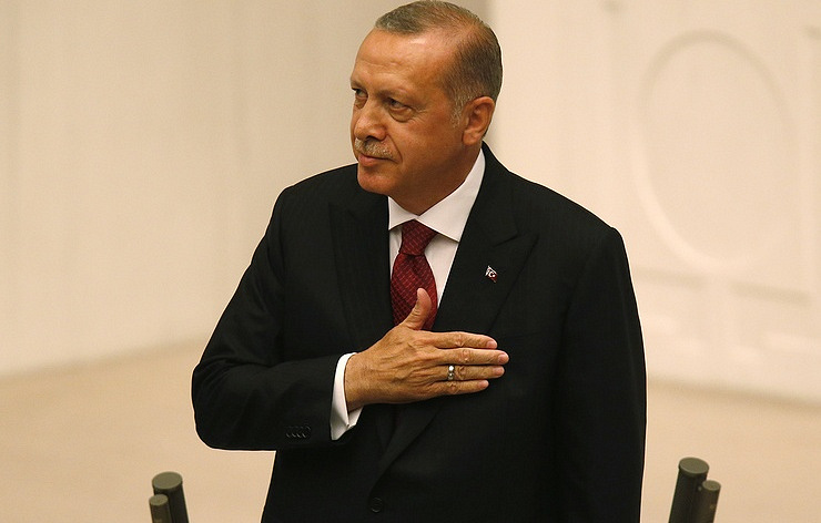 Turkey's president: USA  waging