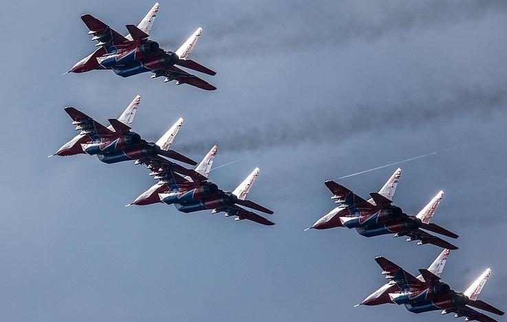 Pilot group Strizhi