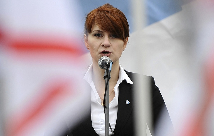 Accused Russian Maria Butina in US faces 'borderline torture': Moscow