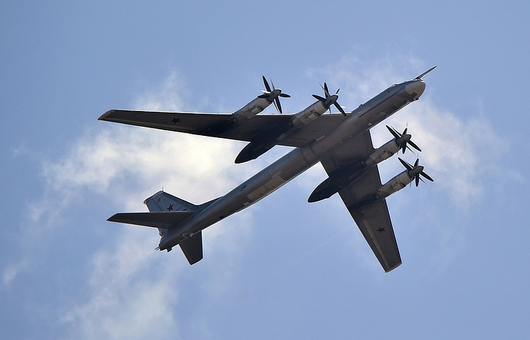 USA  fighters intercepted two Russian Tu-95 near Alaska