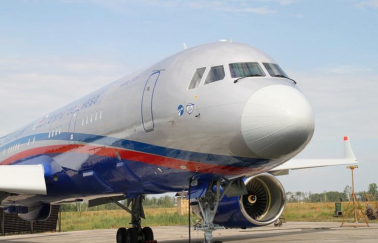 Tu-214ON surveillance plane