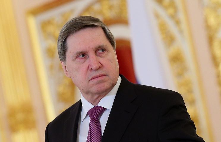 Presidential aide Yuri Ushakov